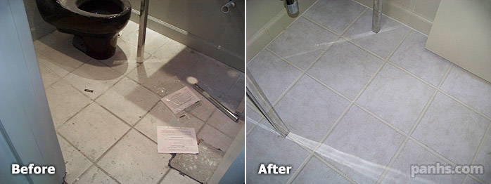 How to seal grout on ceramic tile