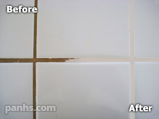 Ceramic Tile Grout Cleaning, Grout Staining and Recoloring, Color ...